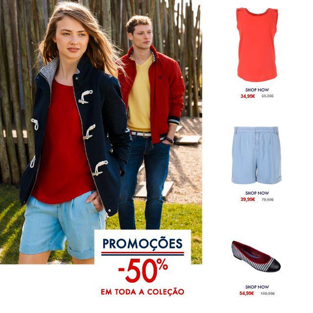 Summer Is Not Over 50% desconto em Toda a Coleção Spring/Summer 15 Shop Online @ www.lionofporches.com
