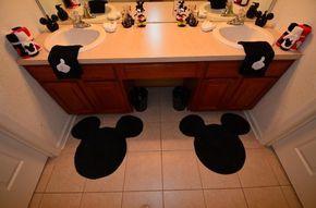 Disney bathroom stuff