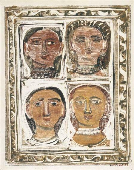 Massimo Campigli, Ritratti di donne