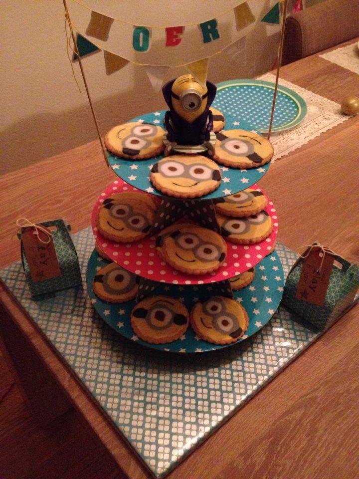 Traktatie minion koekjes