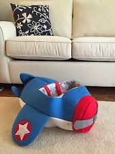 Airplane Pilot Halloween costume Toddler Kids (adjustable straps)
