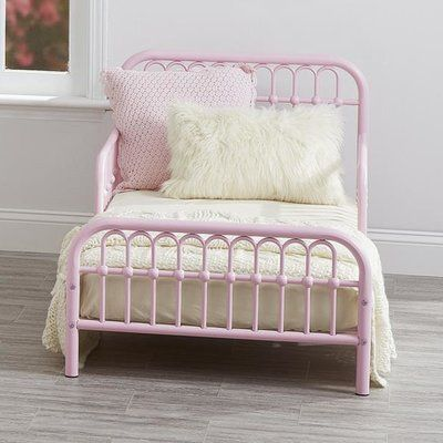 Features:  -Based on classic 18th century wrought-iron furniture.  -Non-toxic, easy-to-clean painted metal legs and frame.  -Stability tested to meet or exceed tip standards.  -Accommodates a toddler