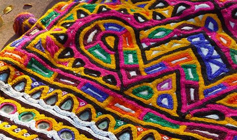 Rabari Embroidery from Kutch, Gujarat