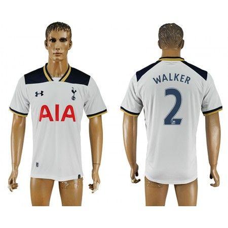 Tottenham Hotspurs 16-17 #Walker 2 Hjemmebanetrøje Kort ærmer,208,58KR,shirtshopservice@gmail.com
