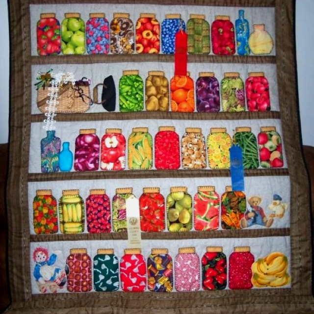 Quilting Mason Jars Fabric Canning I Want To Quilt