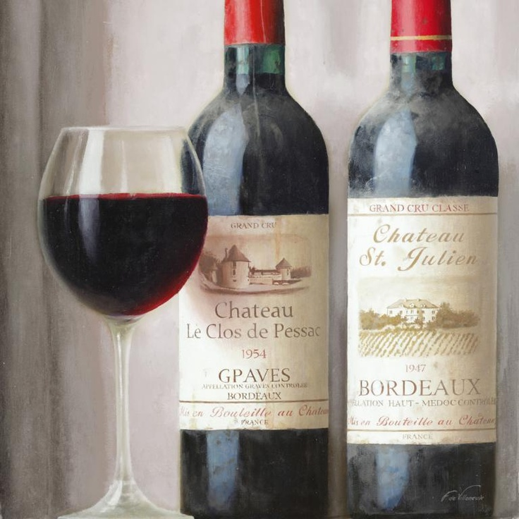 Obraz Czerwone wino - DECORTIS.COM