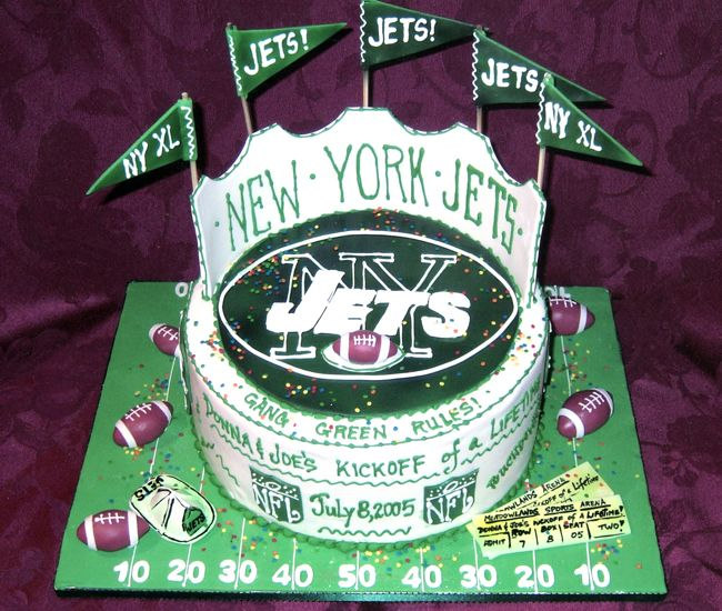 Mark S Groom S Cake Idea Except It Would Be Ny Giants