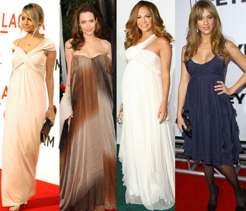 best celebrity maternity dresses-hollywood dress style | Baby ...