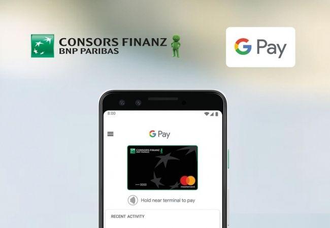 Consors Finanz Startet Google Pay In Deutschland Foto Finanzen Geldbetrag Pressemeldung