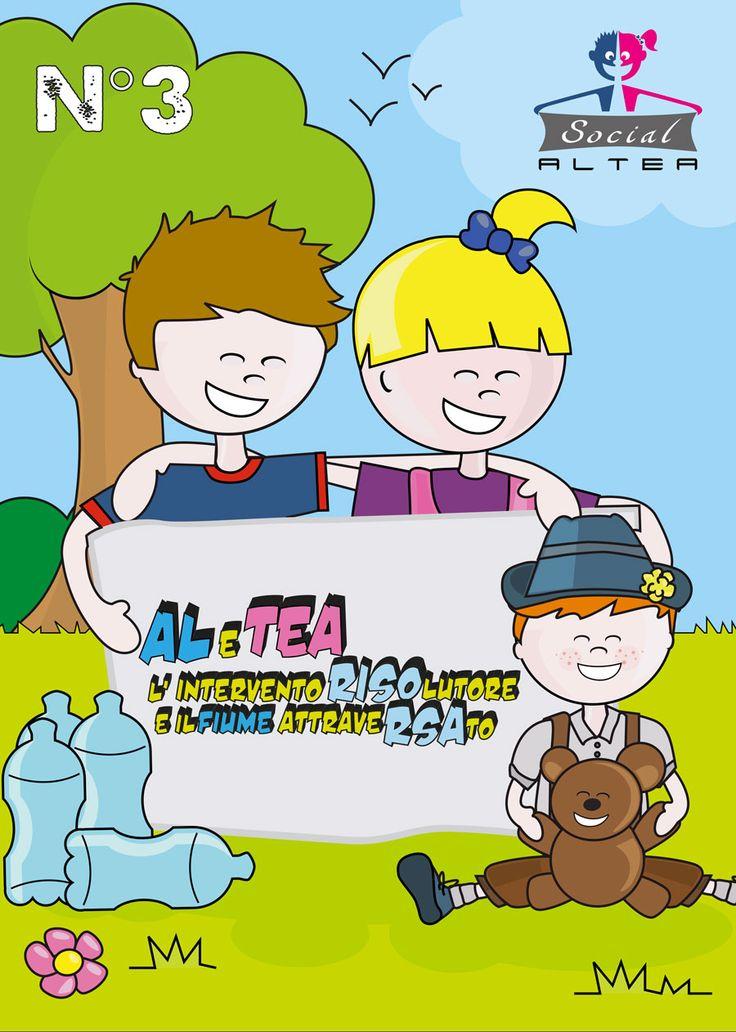 Continua il viaggio di Al e Tea verso la loro meta. Anche in questo episodio incontreranno nuovi amici....  http://alteacomics.tk/#AlteaSocial