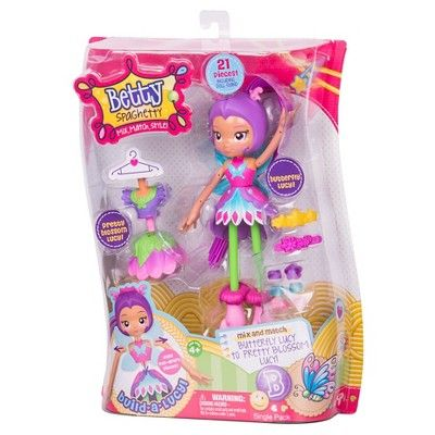 Betty Spaghetty Doll - Butterfly Lucy