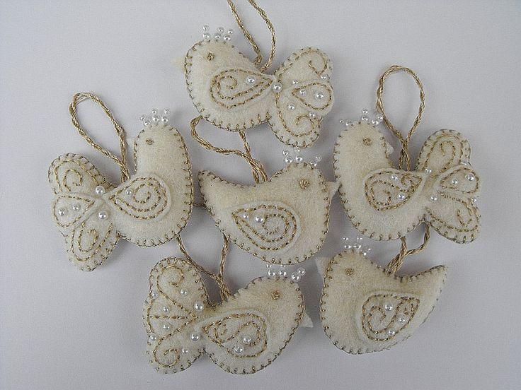 Little Bird Felt Ornaments