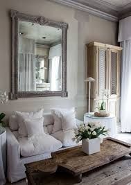 Best 25 shabby chic fireplace ideas on pinterest shabby - Red black and white themed living room ...