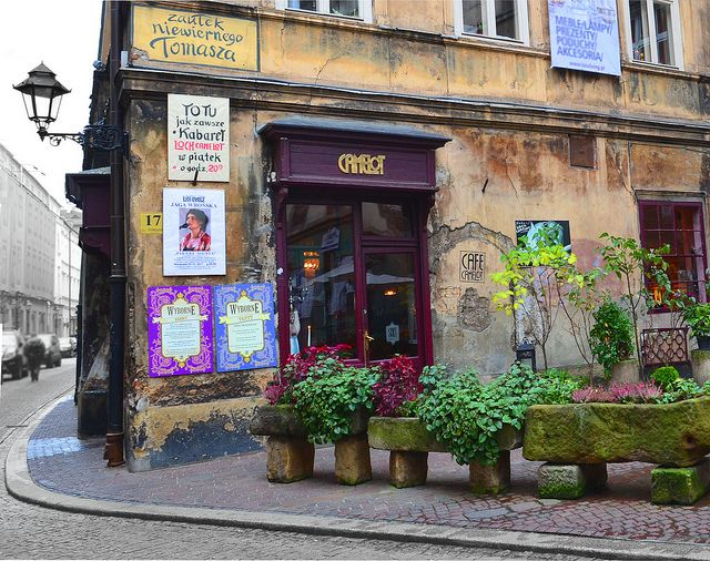 """Cafe Camelot in Krakow, Poland. This was my favourite place to come, sit, and soak in the ambience. As more and more tourists visited the city, it became the place for them to go to feel like a """"local."""""""