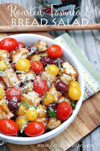 Roasted Tomato and Bread Salad (Panzanella) | Recipe ...