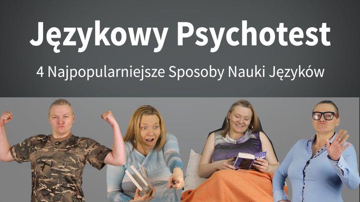 Jezykowy Psychotest - 4 najpopularniejsze sposoby nauki języków http://www.youtube.com/watch?v=7weSxmh1j6I