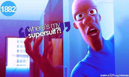 I love the Incredibles