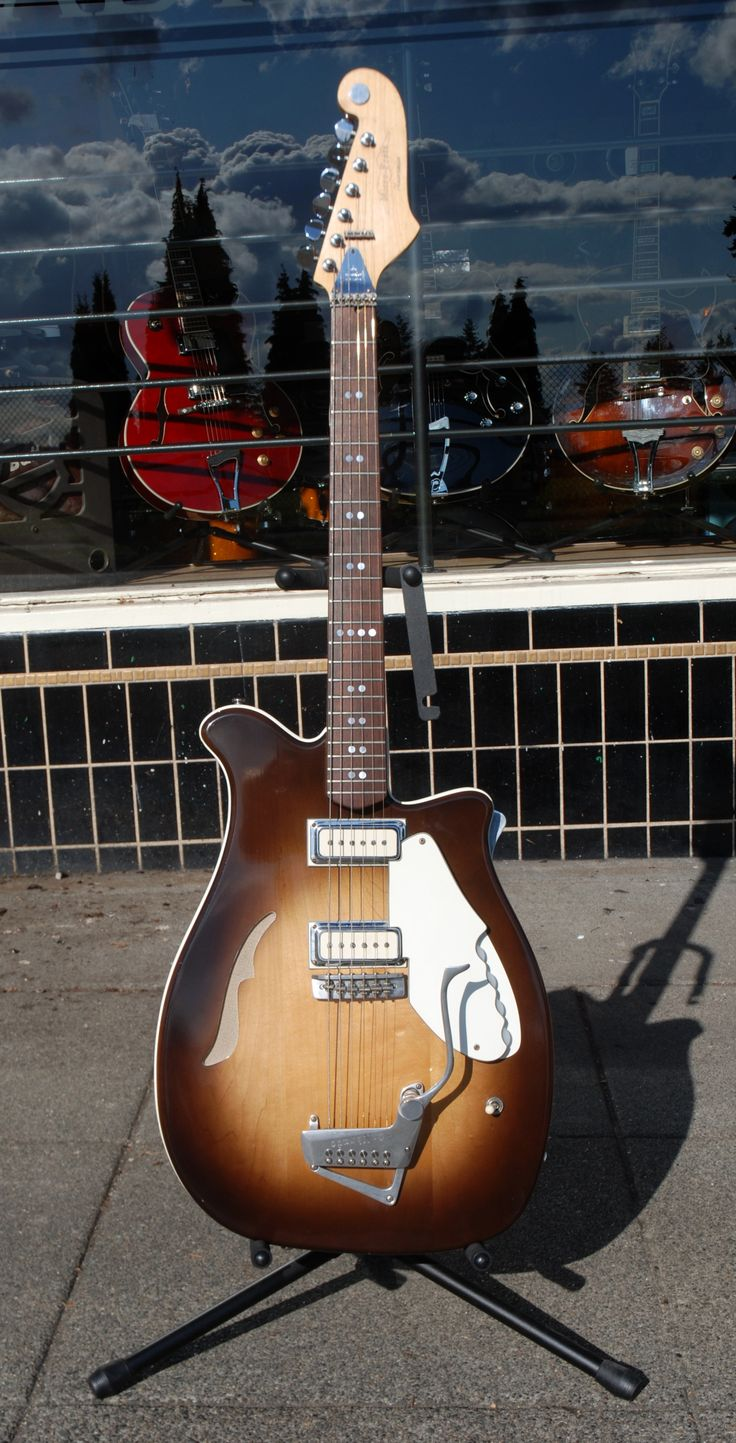 Micro-Frets guitar. Gotta dig the Micro-Frets! Carl Perkins endorsed them - what more do you need?