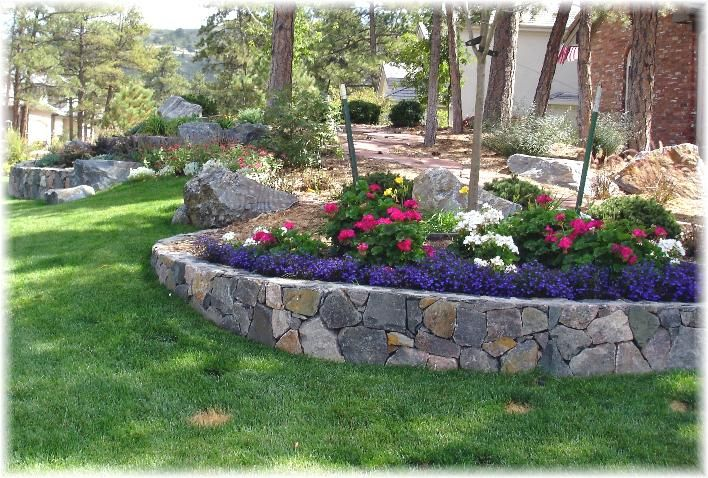 retaining walls in front of brick homes | Retaining Walls