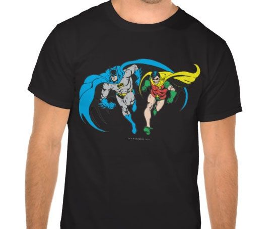 Batman & Robin T-shirt Design