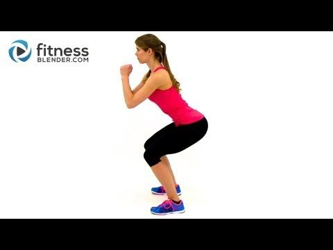 The Most Effective Squat Challenge: 100 Rep Fitness Blender Squat Challenge - YouTube