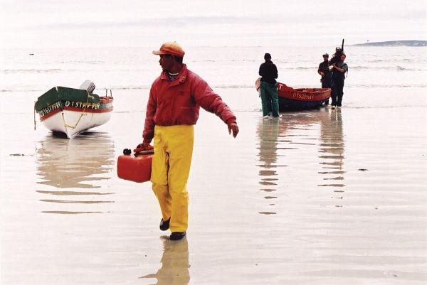Fishermen in Paternoster