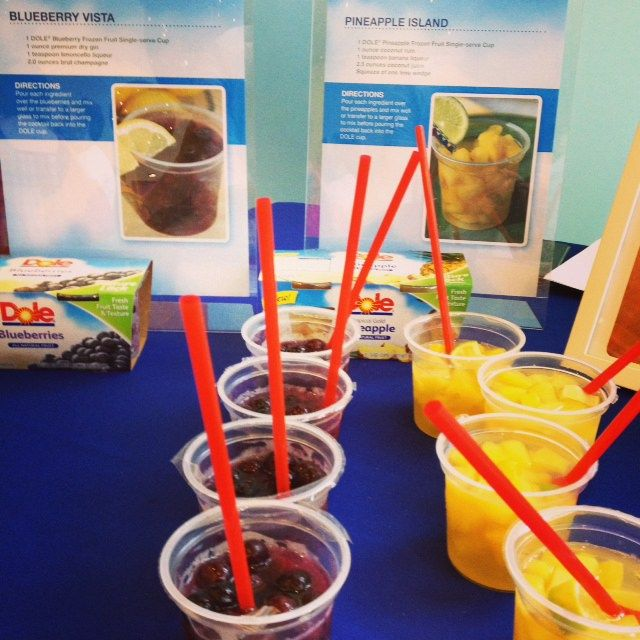 Dole Frozen Fruit Cup Cocktails | ShesCookin.com