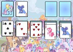 JuegosMyLittlePony.es - Juego: Solitario My Little Pony - Jugar Online Gratis