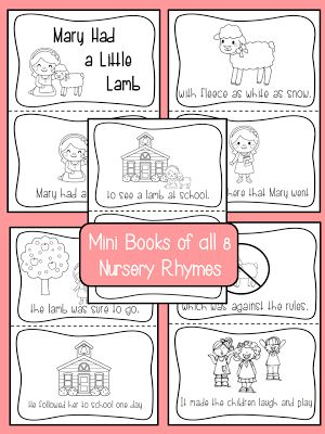 Nursery Rhyme Freebie