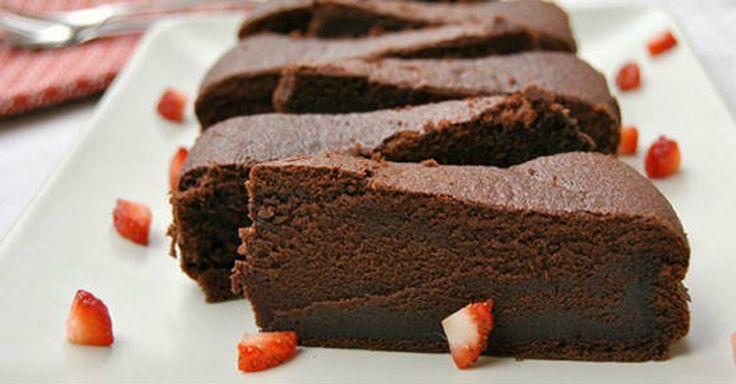 Božsky čokoládový dort kompletně bez mouky
