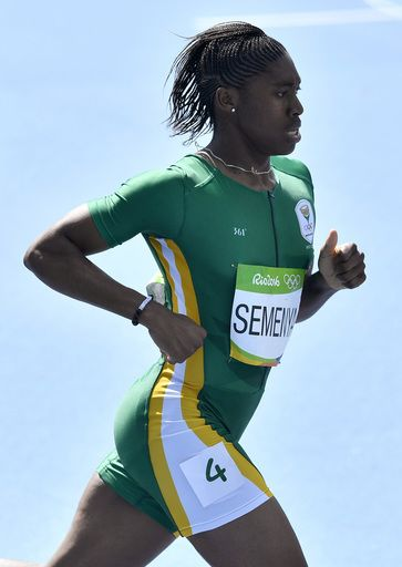 Caster Semenya divides opinion in Rio Olympic debut:  August 17, 2016  -      South Africa's Caster Semenya competes in a women's 800-meter heat during the athletics competitions of the 2016 Summer Olympics at the Olympic stadium in Rio de Janeiro, Brazil, Wednesday, Aug. 17, 2016. (AP Photo/Martin Meissner)