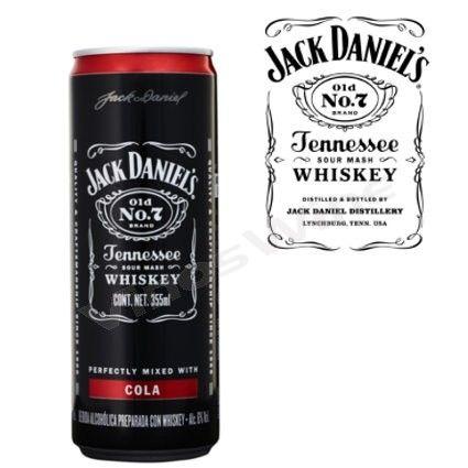 Jack Daniel's Cola Lata 355cc