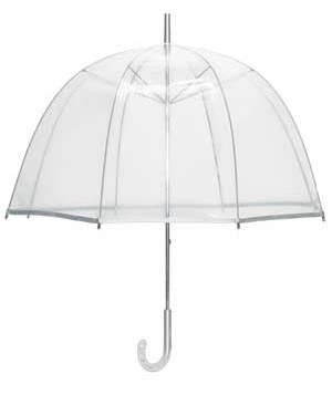 i've always wanted a clear umbrella. $28 umbrellastand.com