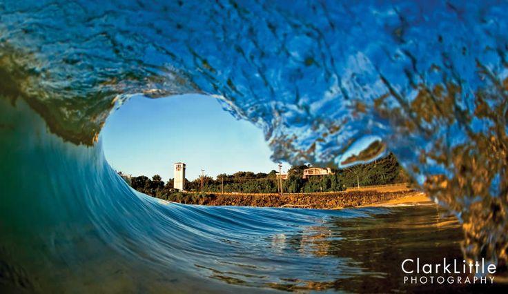 Clark Little Desktop Wallpaper | Waimea Bay shorebreak ...