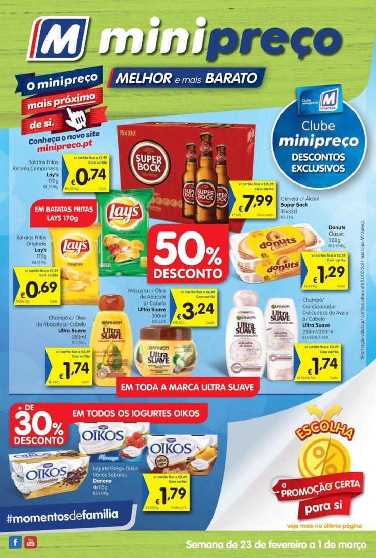 Folheto #Minipreço versão Nacional em vigor a partir de 23 de Fevereiro #folheto #promoções