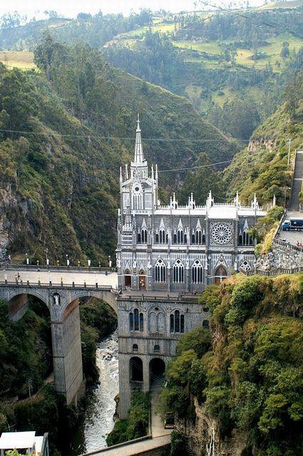 Santuario de Nuestra Senora de las Lajas - Colombia