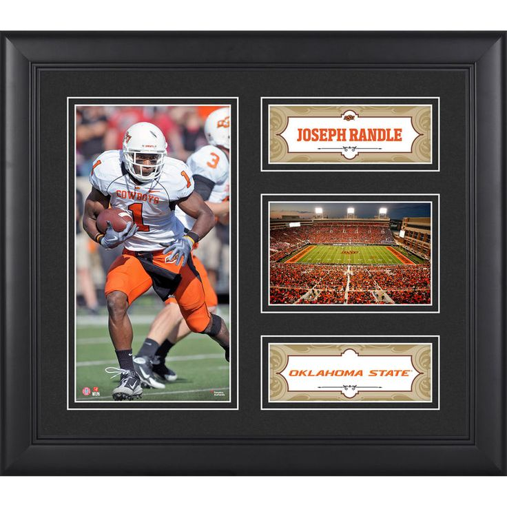 "Joseph Randle Oklahoma State Cowboys Fanatics Authentic Framed 15"" x 17"" Collage"