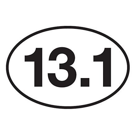 13.1 // half marathon // runner