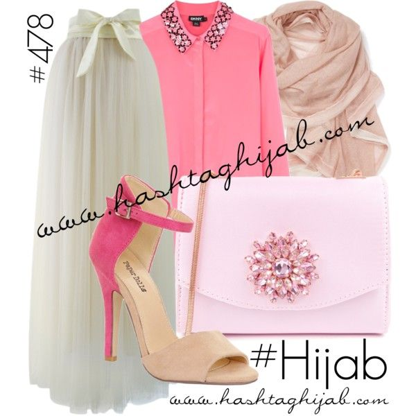 Hashtag Hijab Outfit #478 by hashtaghijab on Polyvore featuring DKNY, Chicwish, Lipsy, Ted Baker, La Fiorentina and hijab
