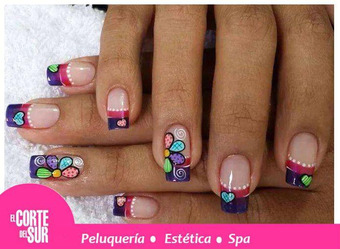 346 best decoraci n de u as profesional el corte del sur images on pinterest manicure - Lo ultimo en decoracion ...