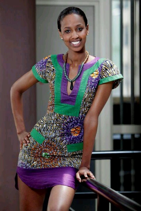 Kitenge kaftan minidress caribbean fashion design African fashion designs pictures