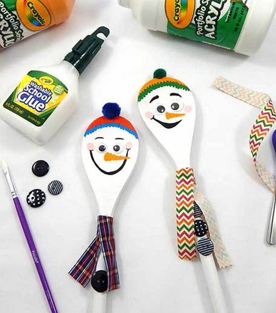 Learn to make Wooden Spoon Snowmen                                                                                                                                                                                 More