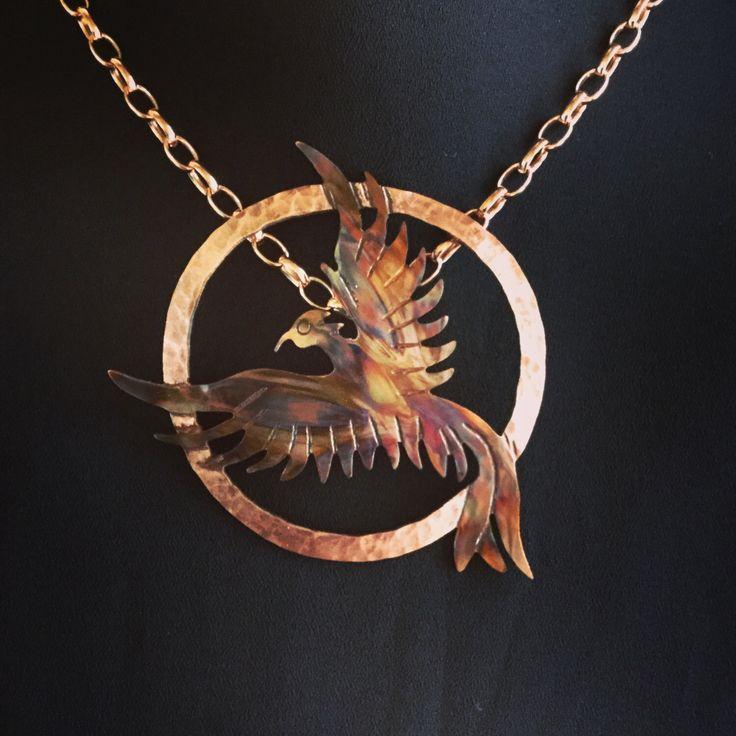 phoenix pendant, phoenix necklace, phoenix rising, phoenix jewelry, firebird, flame painted copper, fire torched copper, statement necklace by ImagesbyKentOlinger on Etsy https://www.etsy.com/ca/listing/509556995/phoenix-pendant-phoenix-necklace-phoenix