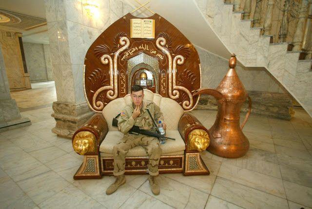 24 Photos Of Saddam Hussein's Abandoned Palaces | Artwork ...