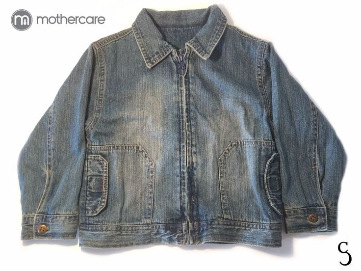 Wonderful Kids Mothercare Jean Jacket _ Size: 4 - 5 years #Mothercare #JeanJacket #EverydayHoliday