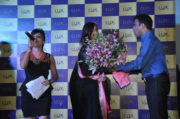 Aishwarya Rai Bachchan at a Lux event in Delhi, couple of weeks ago.2013.