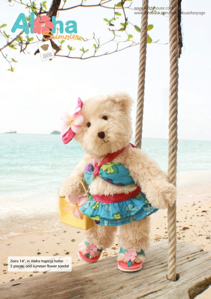 Teddy House Aloha Summer Collection 2013.