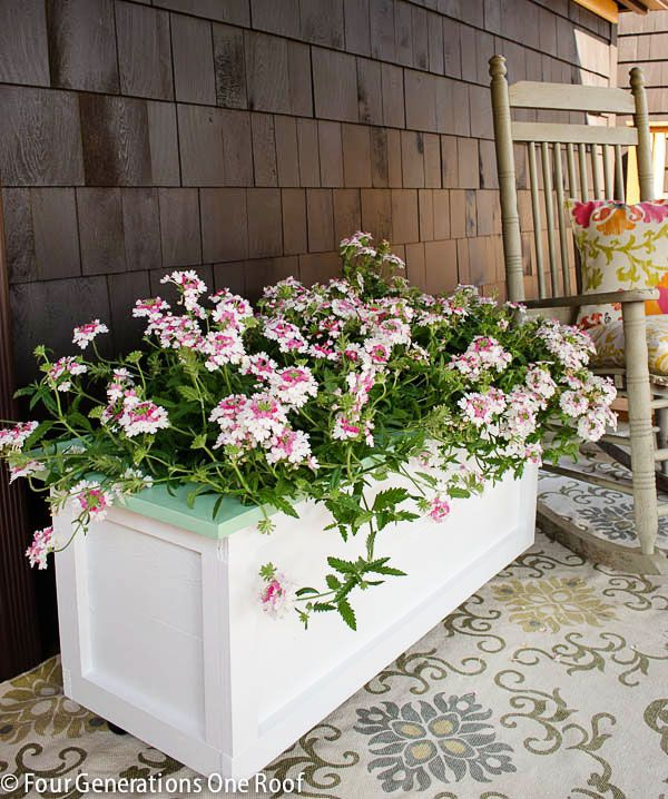 33 Best Images About Wood Planter Tree Box On Pinterest: 146 Best Images About DIY Pots, Planters & Window Boxes On