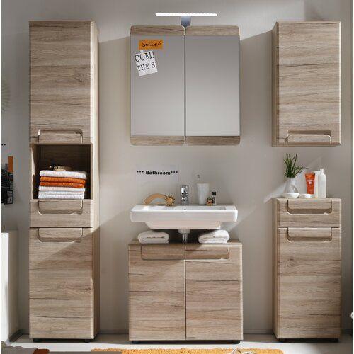 Gochenour 5 Piece Bathroom Storage Furniture Set Brayden Studio Mirror Cabinets Bathroom Storage Furniture