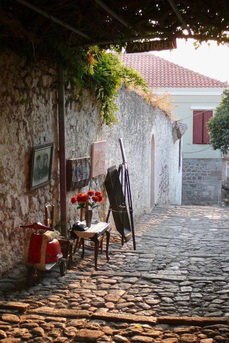 Greece Travel Inspiration - Antique Lesvos , Greece